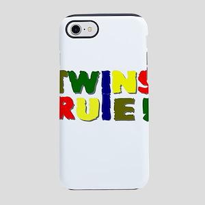 Twins rule iPhone 8/7 Tough Case