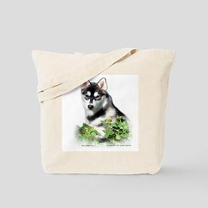 Siberian Husky Dog Tote Bag