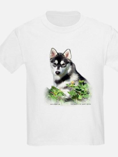 Siberian Husky Dog Kids T-Shirt