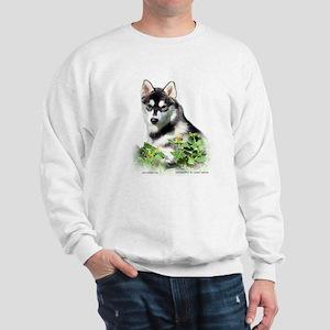 Siberian Husky Dog Sweatshirt
