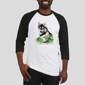 Siberian Husky Dog Baseball Jersey
