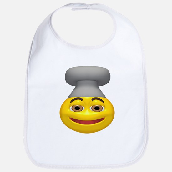 Chef Hat Face Bib
