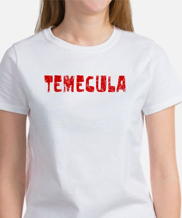 Temecula Faded (Red) Women's T-Shirt