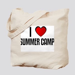 I LOVE SUMMER CAMP Tote Bag