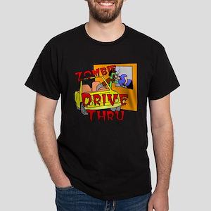 Zombie Drive Thru Dark T-Shirt