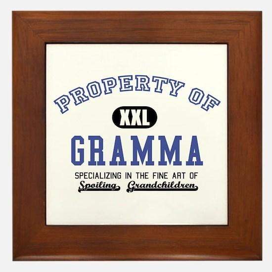Property of Gramma Framed Tile