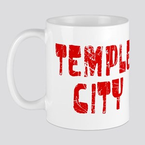 Temple City Faded (Red) Mug