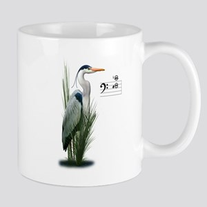 Heron Watch Notes Mugs