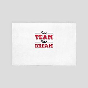 One Team, one Dream 4' x 6' Rug