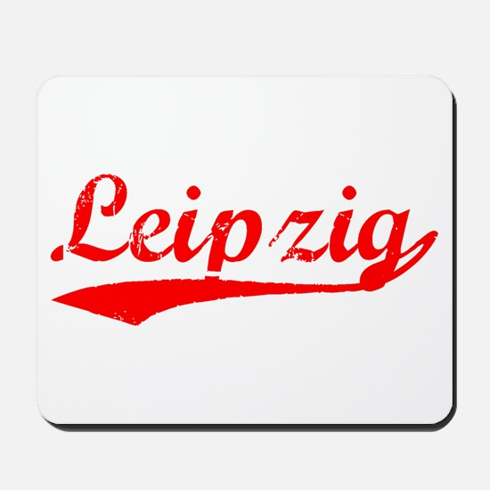 Vintage Leipzig (Red) Mousepad