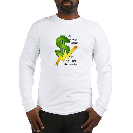 Money Reiki Infused Long Sleeve T-Shirt