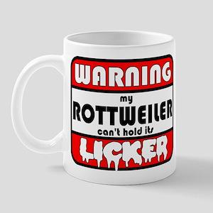 Rottweiler LICKER Mug