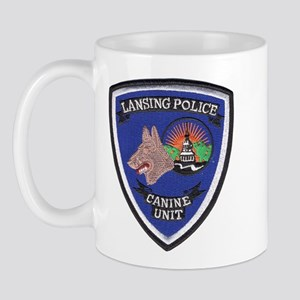 Lansing PD Canine Mug