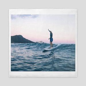 Surfing Paradise Queen Duvet