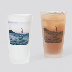 Surfing Paradise Drinking Glass