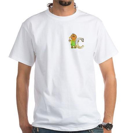 Baby Initials - C White T-Shirt