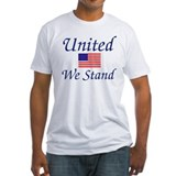 United we stand Fitted Light T-Shirts
