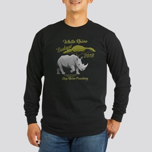Stop Rhino Poaching - Tribute Long Sleeve T-Shirt