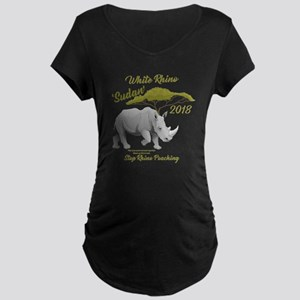 Stop Rhino Poaching - Tribute to Maternity T-Shirt