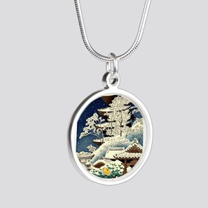 Cool Japanese Oriental Snow Winter Necklaces