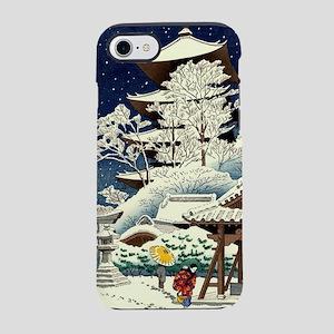 Cool Japanese Oriental Snow iPhone 8/7 Tough Case