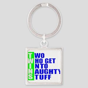Naughty twins Keychains