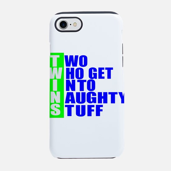 Naughty twins iPhone 8/7 Tough Case