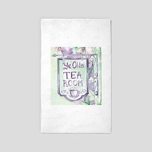 ye olde tea room Area Rug