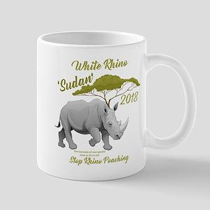 Stop Rhino Poaching - Tribute to Sudan Mugs