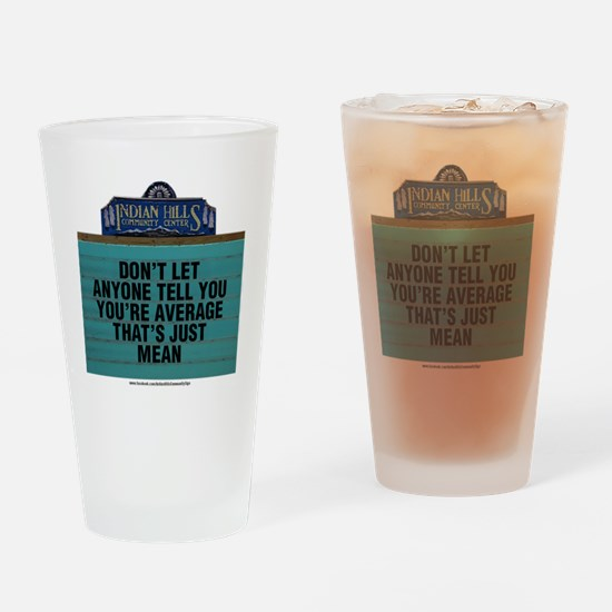 Unique Community Drinking Glass