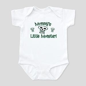 Green Mommy's Little Monster Infant Bodysuit