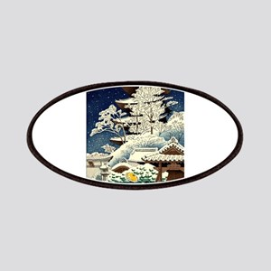 Cool Japanese Oriental Snow Winter Patch