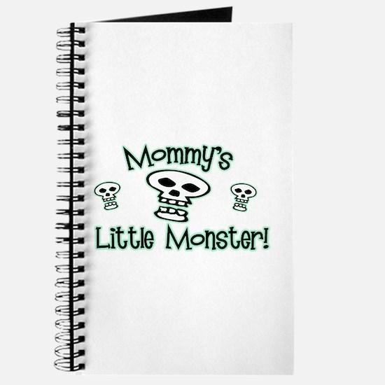 Green Mommy's Little Monster Journal