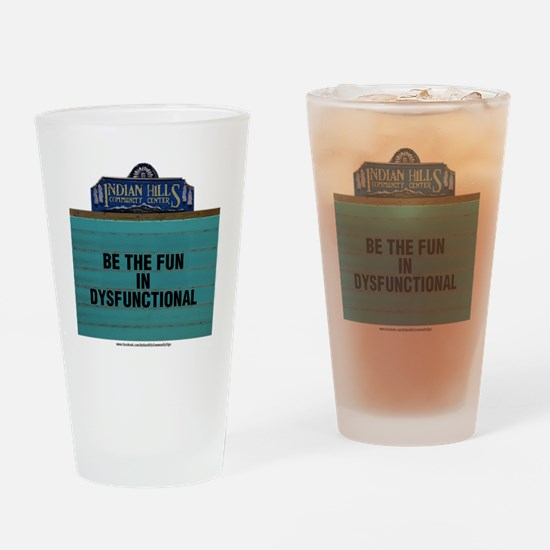 Cute Community Drinking Glass