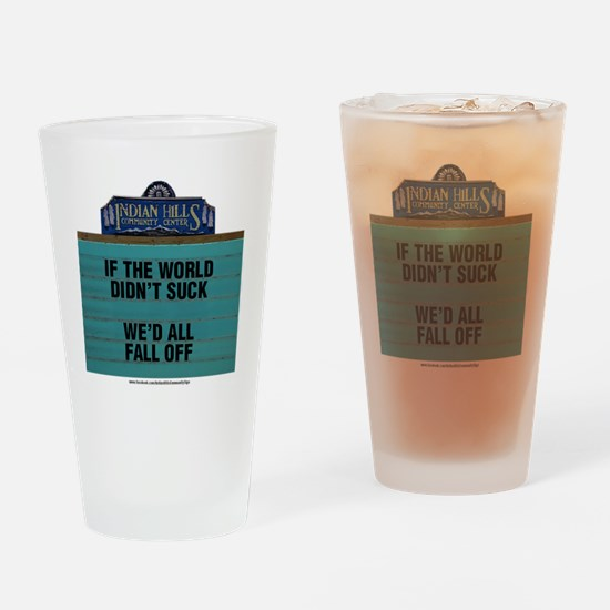 Cool Community Drinking Glass