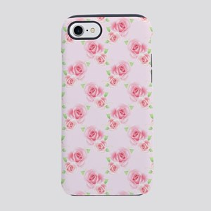 Pink Roses iPhone 8/7 Tough Case