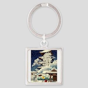 Cool Japanese Oriental Snow Winter Keychains
