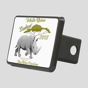 Stop Rhino Poaching - Trib Rectangular Hitch Cover