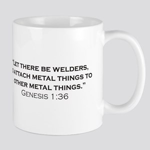 The creation of Welders 11 oz Ceramic Mug
