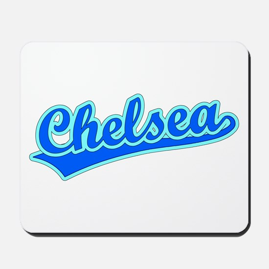 Retro Chelsea (Blue) Mousepad