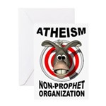 ATHEISM Greeting Cards