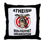 ATHEISM Throw Pillow