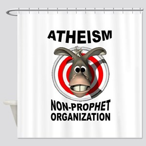 ATHEISM Shower Curtain