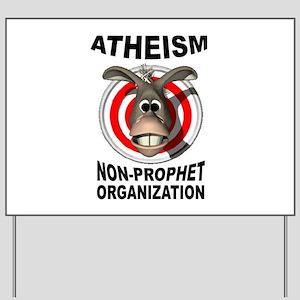 ATHEISM Yard Sign