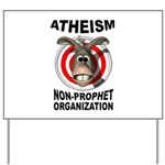 ATHEISM Yard Sign