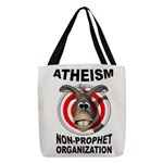 ATHEISM Polyester Tote Bag