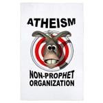 Atheism 4' X 6' Rug