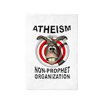 Atheism 4' X 6' Rug