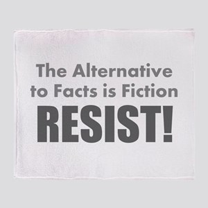 Just the Facts Throw Blanket