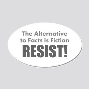Just the Facts Wall Decal